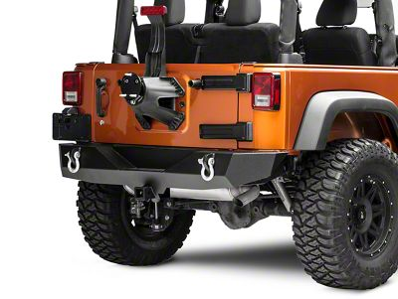 Synergy Spare Tire Relocation Bracket (07-18 Jeep Wrangler JK)