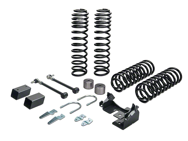 Synergy 2.0 Inch Stage 1 Suspension Lift Kit (07-18 Jeep Wrangler JK 4 Door)