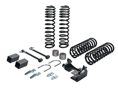 Synergy Stage 1 Suspension System - 2.0 In. Lift (07-18 Jeep Wrangler JK 4 Door)