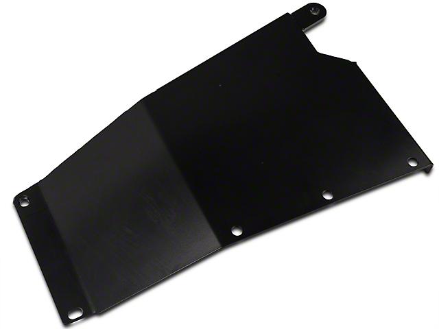 Synergy Transfer Case Skid Plate - Black Powder Coated (07-18 Jeep Wrangler JK)
