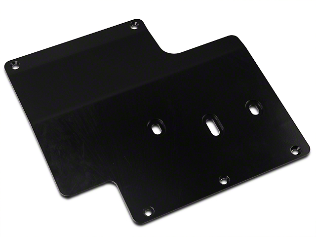 Synergy Standard Transmission Skid Plate - Black Powder Coated (07-18 Jeep Wrangler JK)