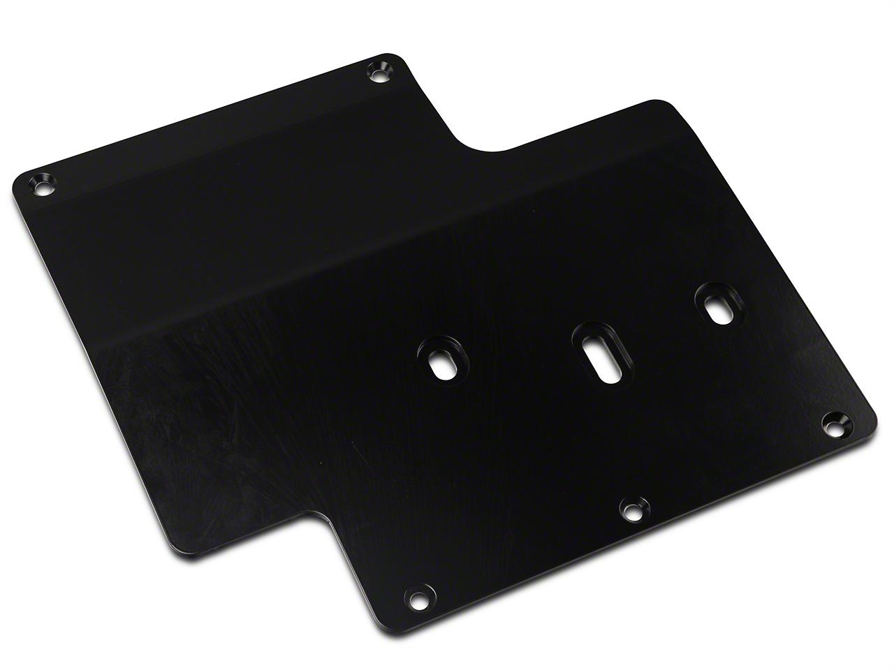 Synergy Standard Transmission Skid Plate - Black Powder Coated (07-18 Wrangler JK)