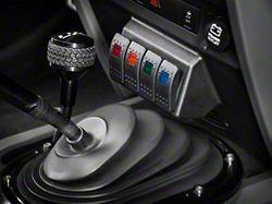 Daystar Dash Switch Panel - Lower (07-10 Jeep Wrangler JK)