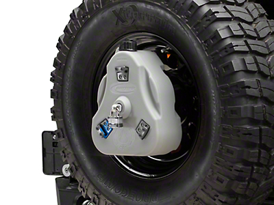 Daystar Cam Can Complete Kit - Gray - Drinking Water (97-18 Wrangler TJ & JK)