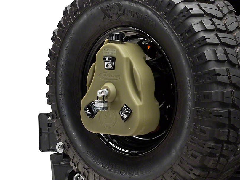 Daystar Cam Can Complete Kit - Green - Petroleum (97-18 Jeep Wrangler TJ & JK)