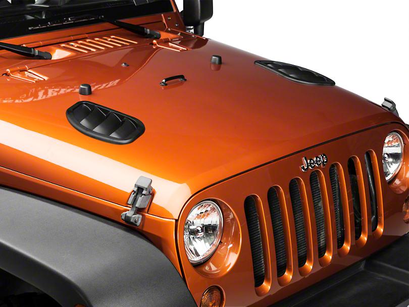 Daystar Side Hood Vents (07-18 Jeep Wrangler JK)