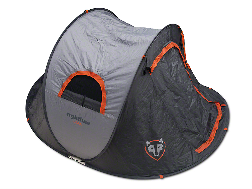 Rightline Gear Pop Up Tent  sc 1 st  Extreme Terrain & Rightline Gear Wrangler Pop Up Tent 110995 (87-17 Wrangler YJ TJ ...