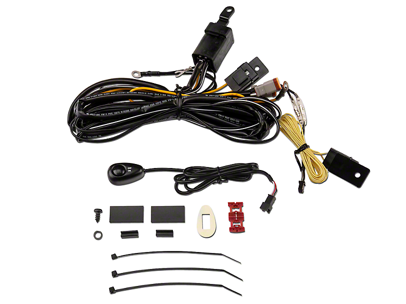 arb wrangler intensity driving light wiring harness 3500520 87 17 wrangler yj tj jk free