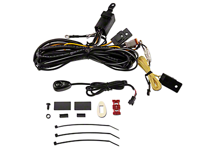 ARB Intensity Driving Light Wiring Harness (87-17 Wrangler YJ, TJ & JK)