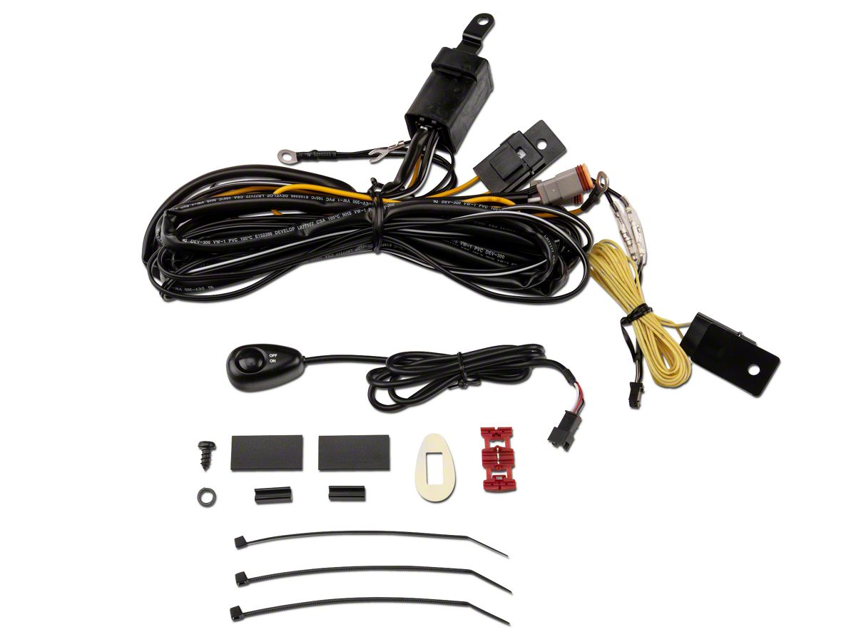 ARB Intensity Driving Light Wiring Harness (87-20 Jeep Wrangler YJ, on