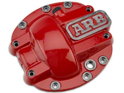 ARB Dana 30 Differential Cover - Red (87-18 Jeep Wrangler YJ, TJ & JK)