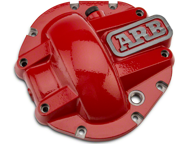 ARB Dana 44 Differential Cover - Red (87-18 Jeep Wrangler YJ, TJ & JK)