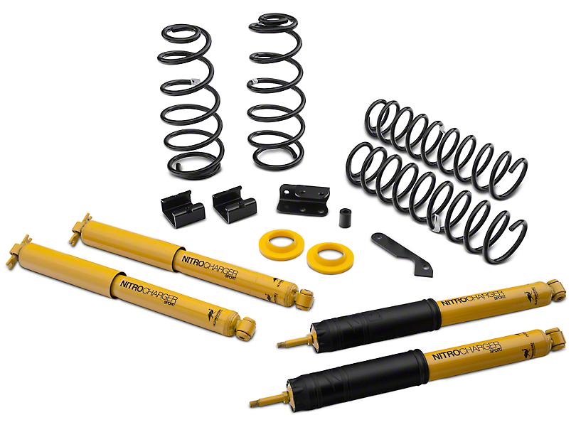 Old Man Emu 2.5 in. Light Load Lift Kit w/ Shocks (07-18 Jeep Wrangler JK 2 Door)