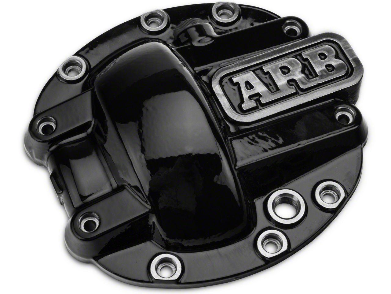 ARB Dana 30 Differential Cover - Black (87-18 Jeep Wrangler YJ, TJ & JK)
