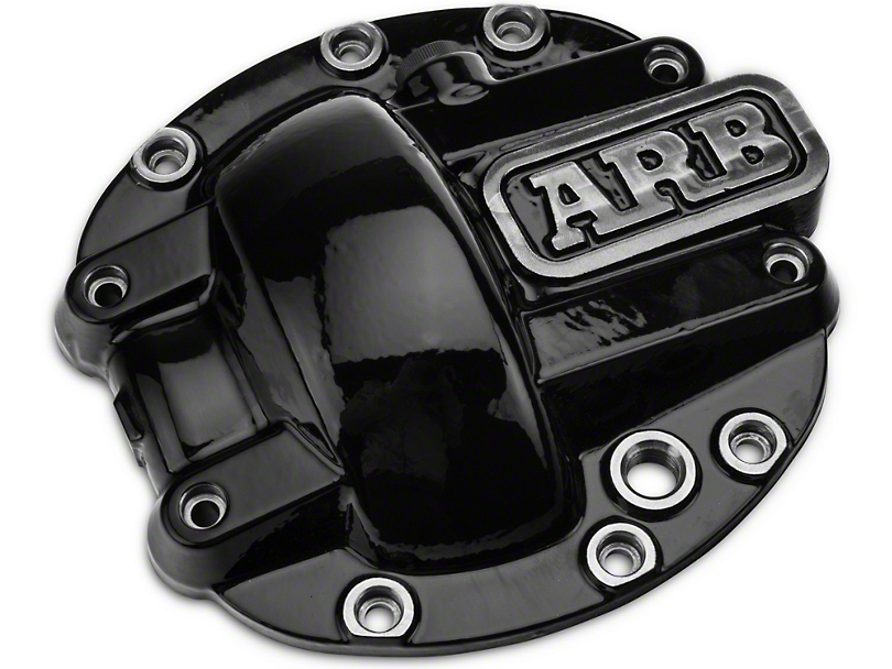 ARB Dana 30 Differential Cover - Black (87-18 Jeep Wrangler YJ, TJ & JK)