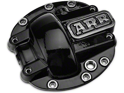 ARB Dana 30 Differential Cover - Black (87-18 Wrangler YJ, TJ & JK)