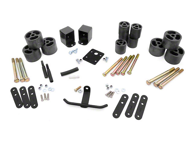 Rough Country 2-Inch Body Lift Kit (87-95 Jeep Wrangler YJ)