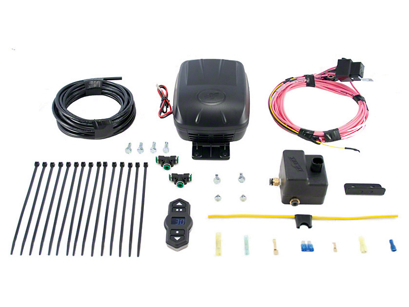 Air Lift Performance Wireless Air Single Path Standard Duty On Board Air System (97-18 Wrangler TJ & JK)