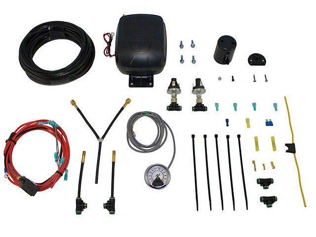 Air Lift Load Controller Dual Path Standard Duty On Board Air System (97-20 Jeep Wrangler TJ, JK & JL)