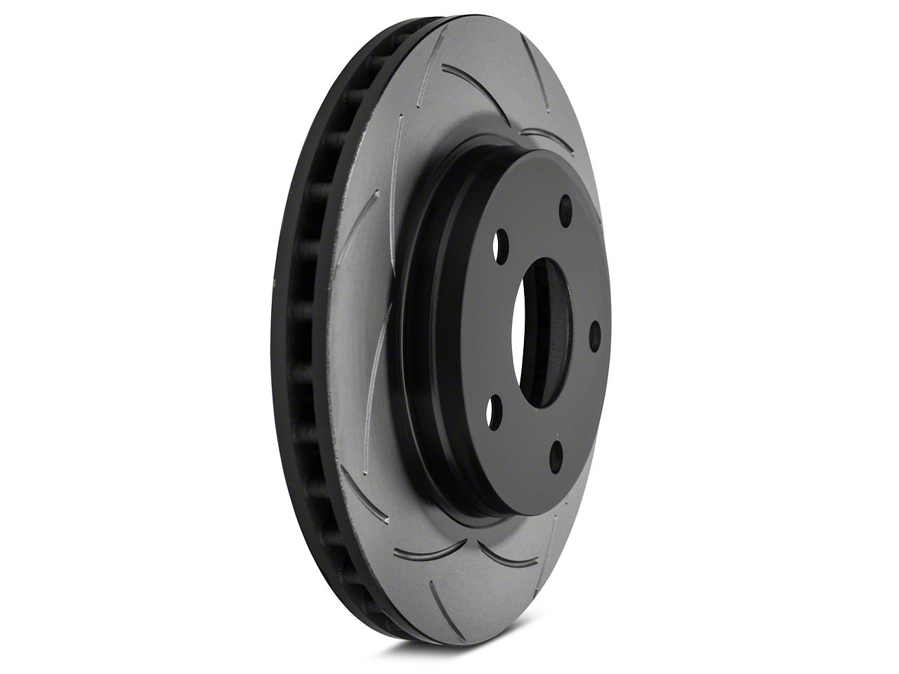DBA T2 Street Series Slotted Rotor - Front Pair (07-12 Wrangler JK)