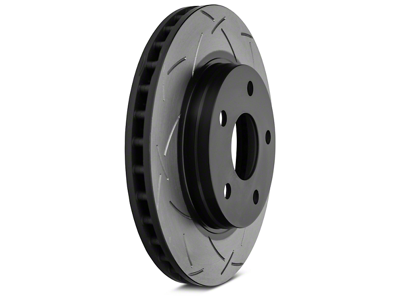 DBA T3 4000 Series Slotted Rotor - Front Pair (07-12 Jeep Wrangler JK)