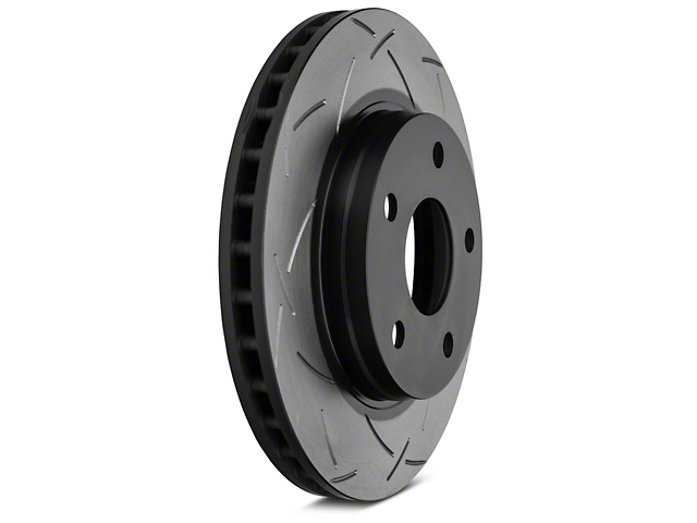 DBA T3 4000 Series Slotted Rotor; Front Pair (07-12 Jeep Wrangler JK)