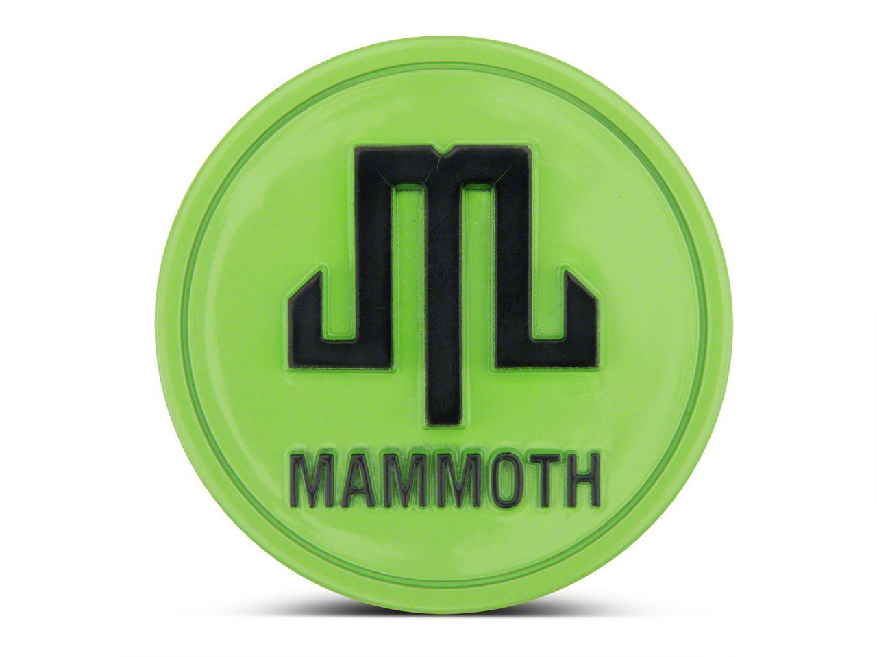 Mammoth Lime Green Center Cap (87-19 Jeep Wrangler YJ, TJ, JK & JL)