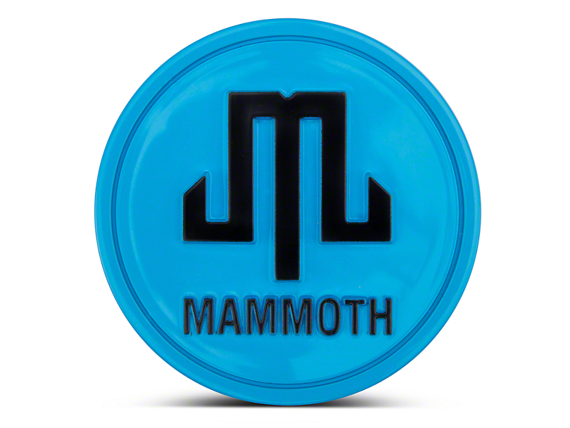 Mammoth Blue Center Cap (87-18 Wrangler YJ, TJ & JK)