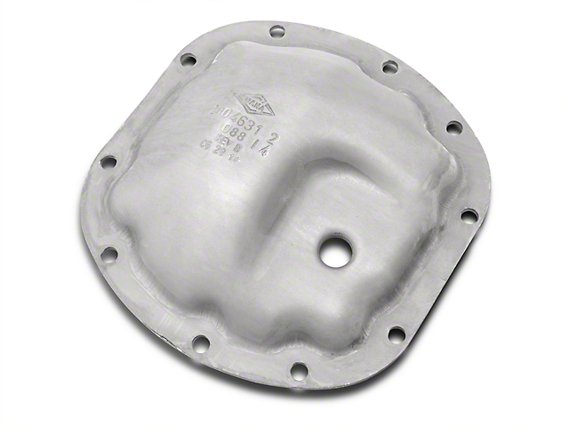 Dana Spicer OE Steel Differential Cover for Dana Super 35; Front (07-11 Jeep Wrangler JK)