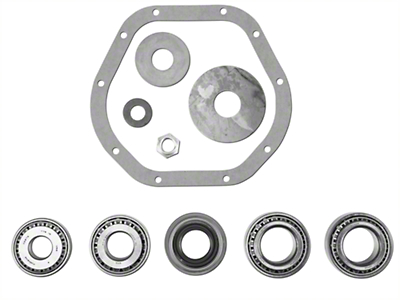 Dana Spicer Rear Axle Bearing Rebuild Kit for Dana 44 with Trac Lok (98-02 Wrangler TJ)