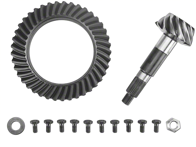 Dana Spicer Dana 44 Front Axle Ring Gear and Pinion Kit - 3.73 Gears (01-03 Jeep Wrangler TJ)