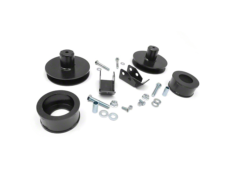 Rough Country 2 in. Suspension Lift Kit w/o Shocks (97-06 Jeep Wrangler TJ)
