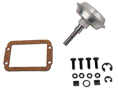Dana Spicer Vacuum Motor Disconnect Kit for Dana 30 Front Axles (91-95 Wrangler YJ)