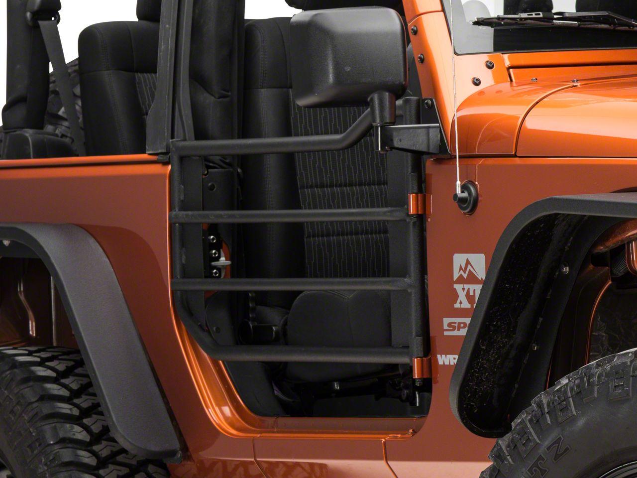 Barricade Front Adventure Doors - Textured Black (07-18 Wrangler JK) & 2007-2018 Jeep Wrangler Doors u0026 Door Accessories | ExtremeTerrain ... pezcame.com