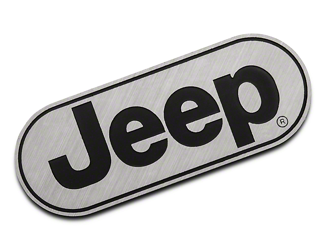 Hitch Cover with Jeep Logo