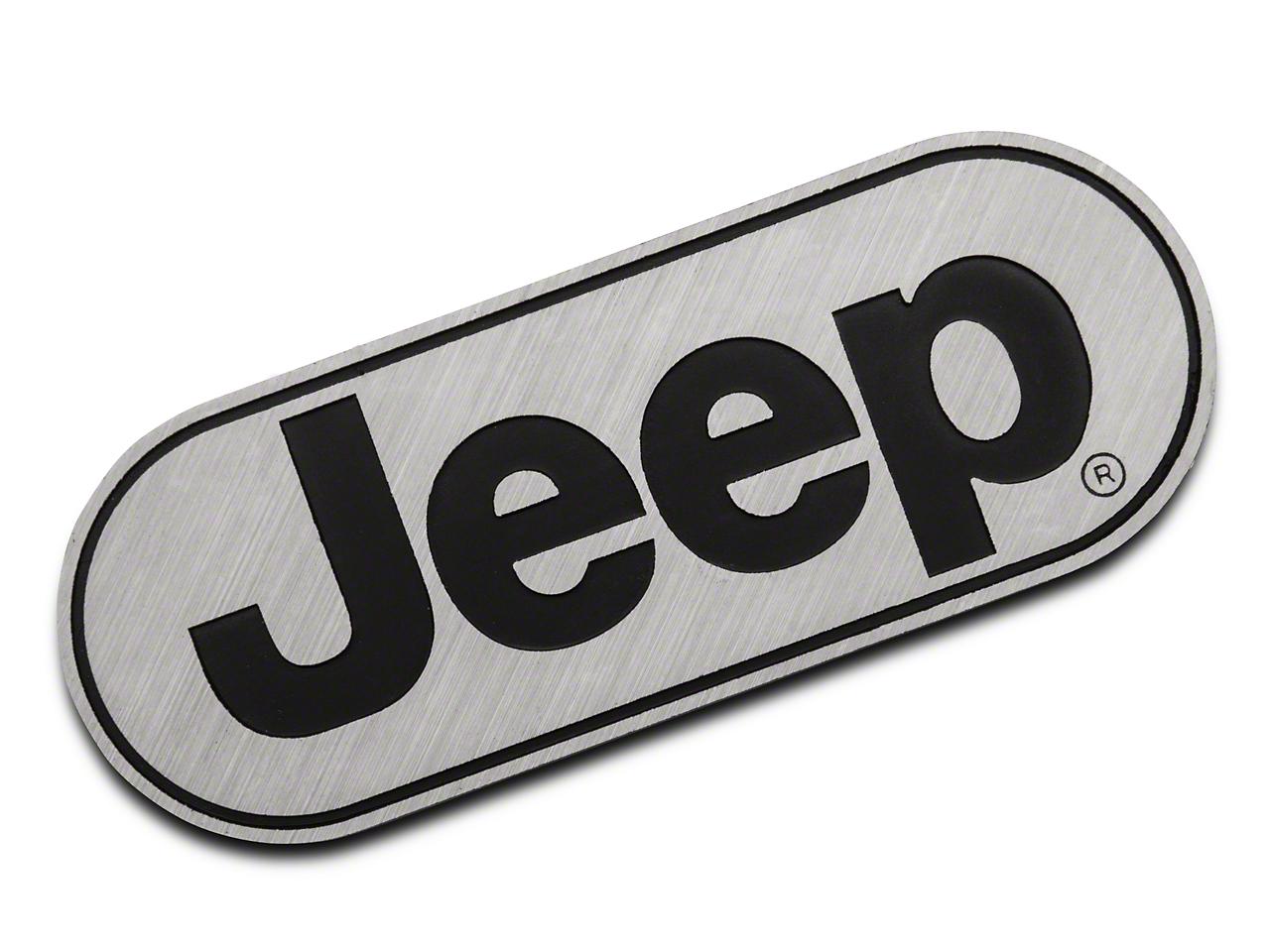 RedRock 4x4 Jeep Logo Hitch Cover (87-18 Wrangler YJ, TJ, JK & JL)