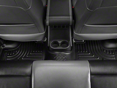 Husky Weatherbeater Rear Floor Liners - Black (11-18 Wrangler JK 4 Door)