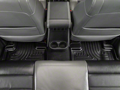 Husky Weatherbeater Rear Floor Liners - Black (11-17 Wrangler JK 2 Door)