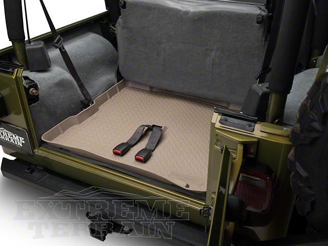 Husky Classic Cargo Liner - Tan (87-02 Jeep Wrangler YJ & TJ)