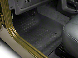 jeep black jk lloyd wrangler p mats door floor with set silver logo carpeted mat