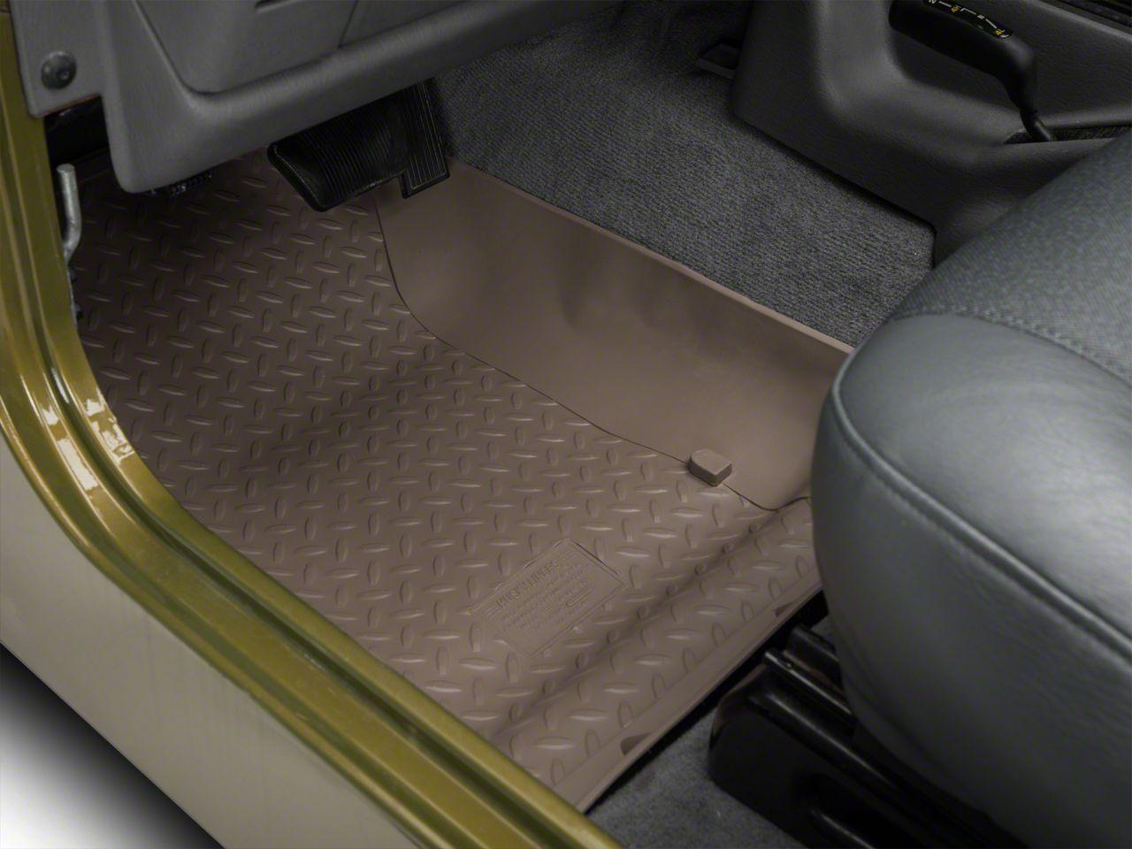 Husky Classic Front Floor Liners - Tan (97-06 Jeep Wrangler TJ)