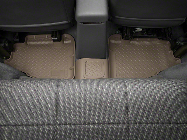 Classic Rear Floor Liner; Tan (97-06 Jeep Wrangler TJ)