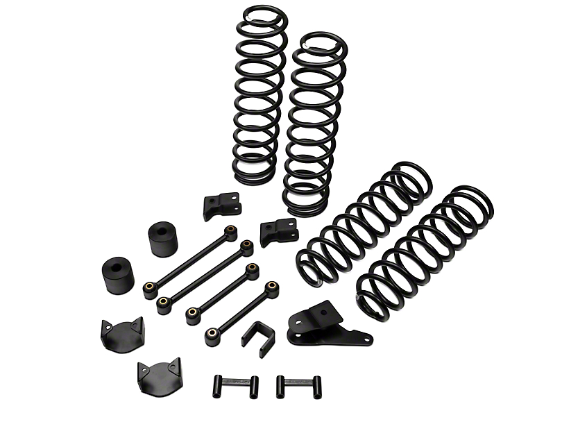 ReadyLIFT SST Lift Kit 4 in. Front / 3 in. Rear (07-17 Wrangler JK)
