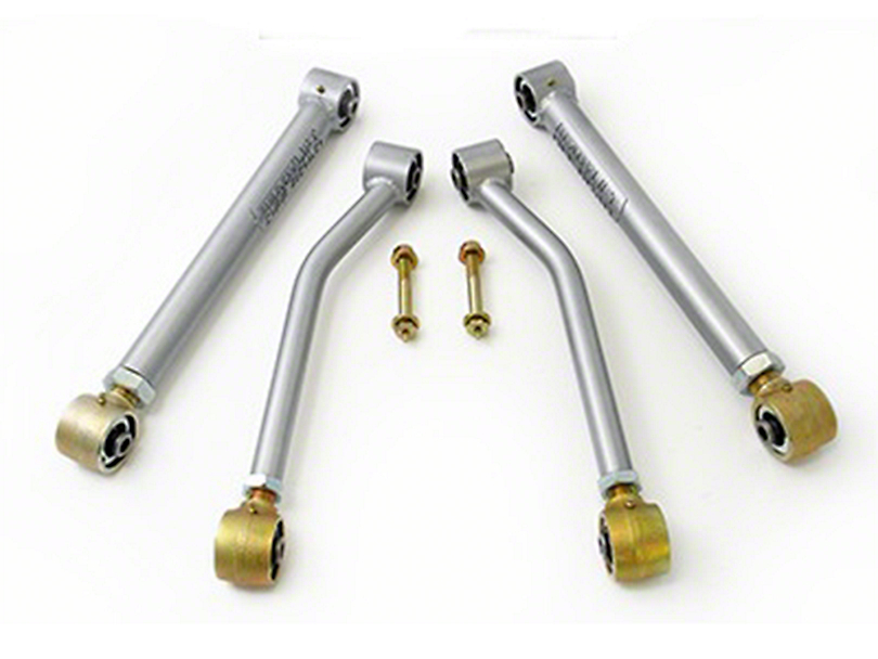 ReadyLIFT Max Flex Short Arm Kit - Rear Only (07-18 Wrangler JK)