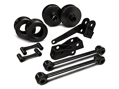 Rough Country 2.5 in. Series II Lift Kit w/o Shocks (07-18 Wrangler JK)