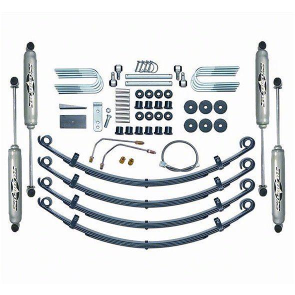 Rubicon Express 2.5 in. Standard Suspension System w/ Twin Tube Shocks (87-95 Jeep Wrangler YJ)