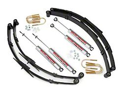 Rough Country 2.5 in. Suspension Lift Kit w/ Shocks (87-95 Jeep Wrangler YJ)