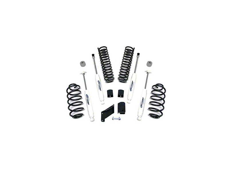 Pro Comp Suspension 2.5 in. Lift Kit w/ Shocks (07-18 Jeep Wrangler JK)