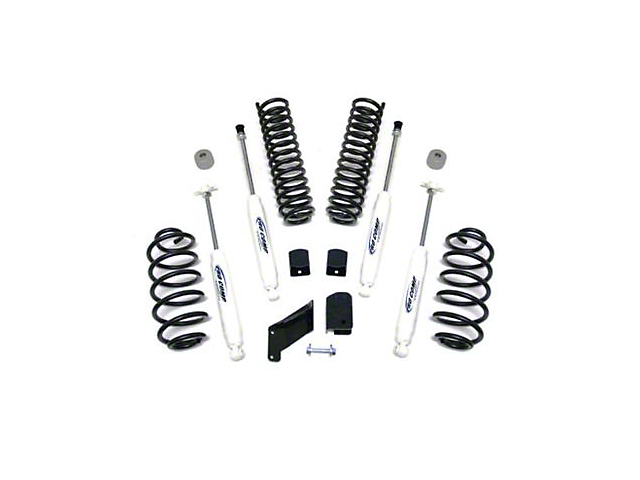 Pro Comp Suspension 2.5 Inch Lift Kit w/ Shocks (07-18 Jeep Wrangler JK)