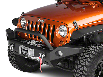 Barricade Trail Force HD Full Width Bumper (07-18 Wrangler JK; 2018 Wrangler JL)